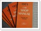 Werkstatt-Handbuchset (5), Ford 1971, Bund Fr. 138.--