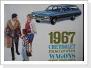 1967 Chevrolet Kombis, orig.Broschüre 15 Seiten, Fr. 24.-