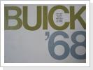 1968 Buick orig.Broschüre, gr.Faltprospekt, Fr. 28.--