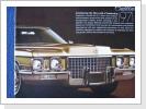 1971 Cadillac, 10 Seiten orig.Broschüre, Fr. 19.-