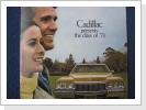 1973 Cadillac orig.Broschüre, 10 Seiten, Fr. 19.-