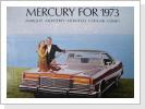 1973 Mercury Broschüre, 23 Seiten, Fr. 24.-