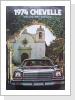 1974 Chevelle orig.Broschüre, 15 Seiten, Fr. 22.--